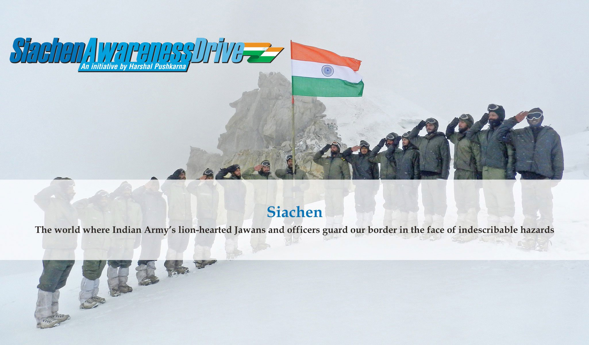 Siachen Awareness Drive Slides 3